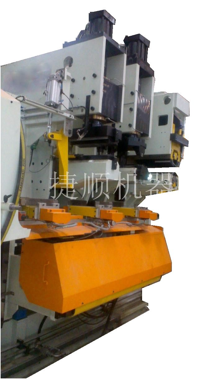 Automatic line of planing and rolling welding treatment